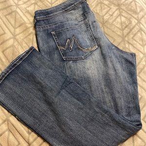 Women's size 18 long jeans